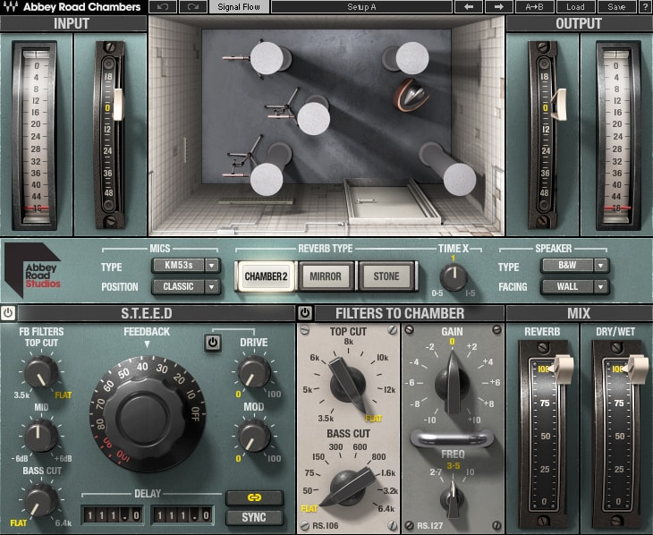 Waves 发布 Abbey Road Chambers 录音棚模拟插件