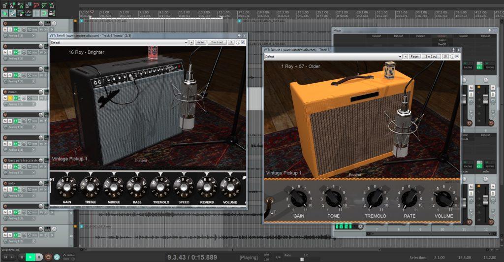 SKnote 宣布推出 TwinR 吉他放大器仿真插件,支持所有主要平台