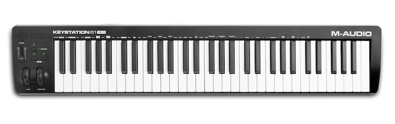 M-AUDIO 发布新一代 Keystation MK3 USB MIDI键盘控制器