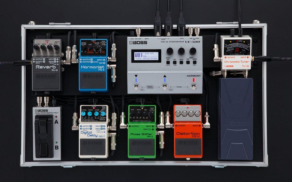 BOSS 发布 VE-500 Vocal Performer 吉他效果器踏板(视频)