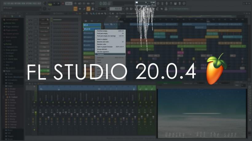 Image-Line 发布 FL Studio 20.0.4,CPU 占用更低