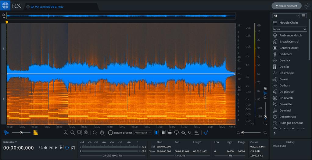 iZotope 发布RX 7 — 让音频修复变得更容易(视频)