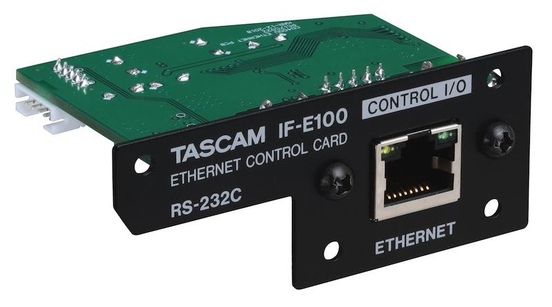 TASCAM 发布可用于 CD-400U 媒体播放器的以太网卡 IF-E100
