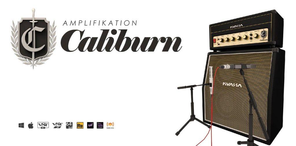 Kuassa 发布英国 Marshall 放大器仿真插件 Amplifikation CaliburnMarshall