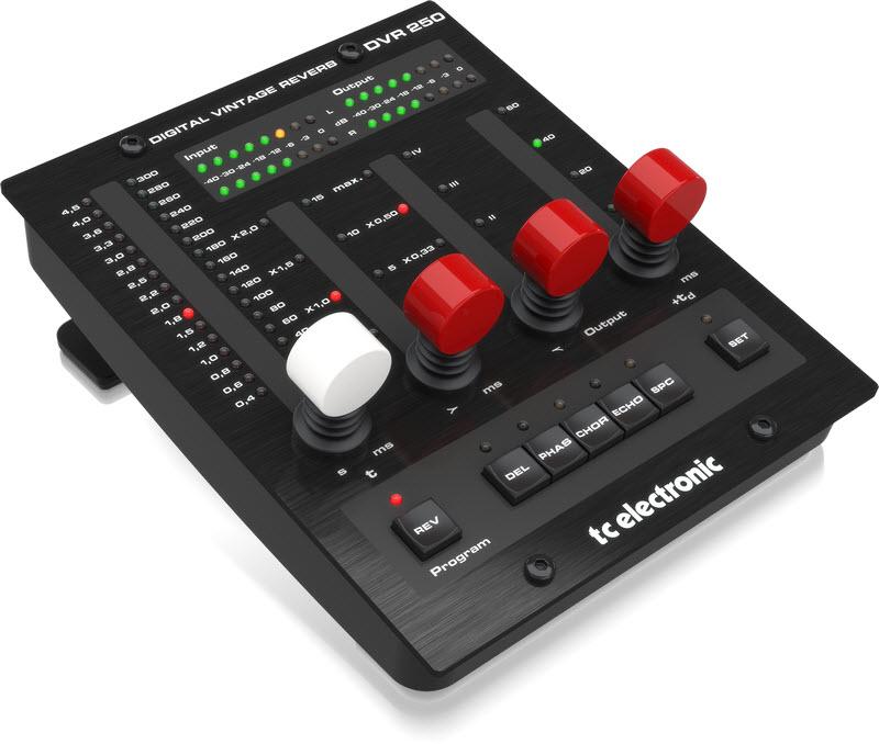 TC Electronic(TC 电子)发布 DVR250-DT 插件,模拟经典 EMT250 板式混响(视频)