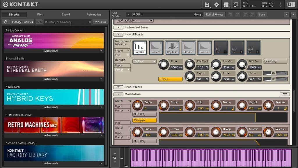 NI 发布 KONTAKT 6乐器平台、MASSIVE X 合成器和 KOMPLETE KONTROL S88 Mk2 键盘(视频)