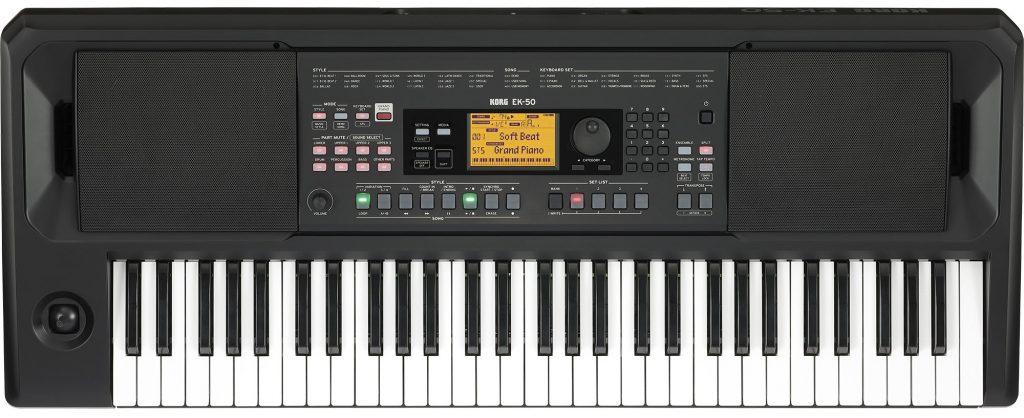 Korg 推出新款入门级编曲键盘 EK-50(视频)