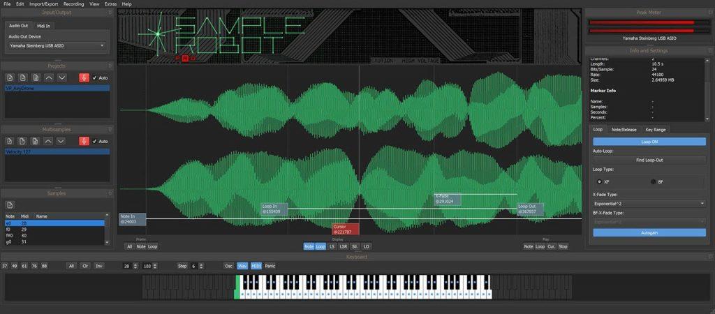 SKYLIFE 发布 SampleRobot 6 Pro 自动录音采样软件