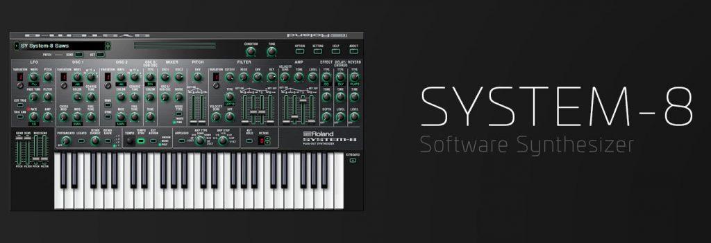罗兰云(Roland Cloud)发布 SYSTEM-8 软件合成器更新(视频)