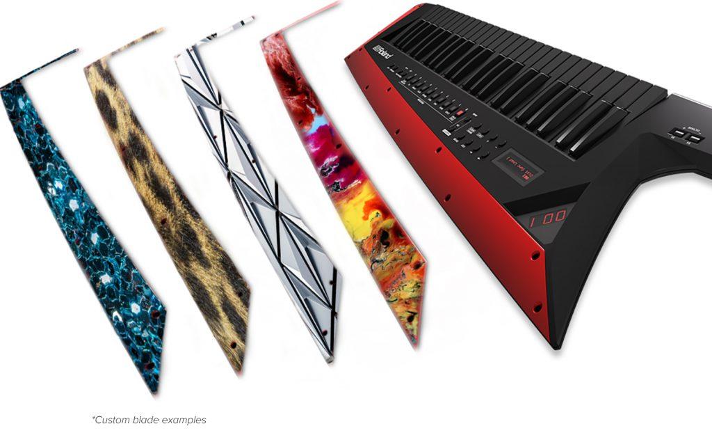 Roland(罗兰)发布超酷的 AX-Edge 肩背式键盘合成器(视频)