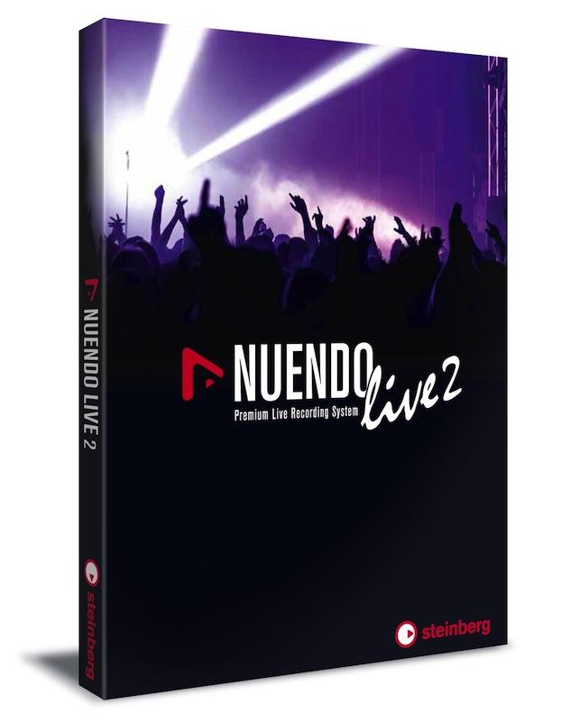 Steinberg发布Nuendo Live 2,为现场录音提供可靠性和更好的性能