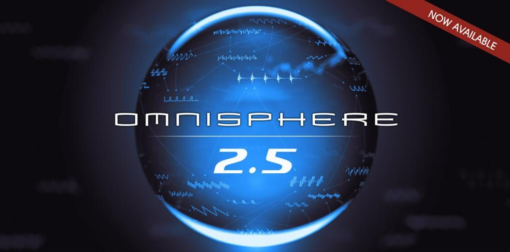 Spectrasonics 发布强大的旗舰级软件合成器 Omnisphere 2.5 版