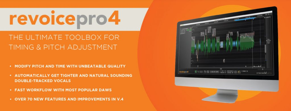 Synchro Arts 发布时间和音高编辑工具 Revoice Pro 4(视频)