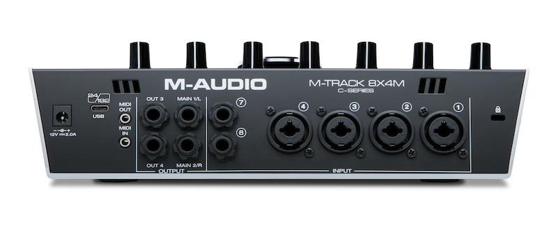 M-Audio 推出 M-TRACK 8X4M 8进4出USB音频接口