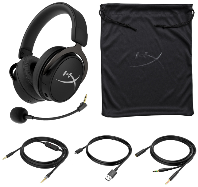 HyperX公布了最新有线/无线混合型游戏耳机Cloud MIX