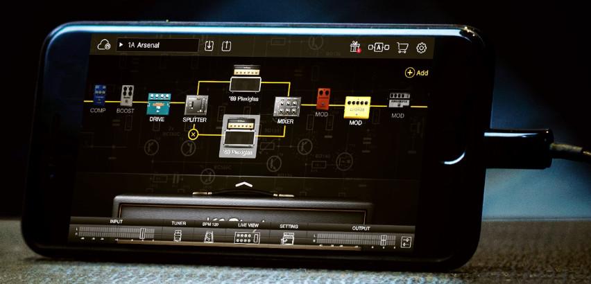 用于iPhone和iPad的BIAS FX吉他效果器(视频)