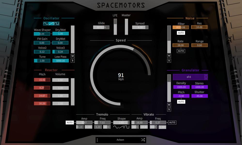 SpaceMotors,能发出科幻车辆声音的合成器(视频)