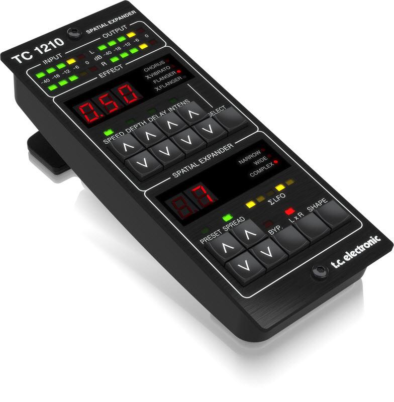 TC Electronic(TC 电子)发布最新TC1210-DT立体声扩展器和TC8210-DT混响(视频)
