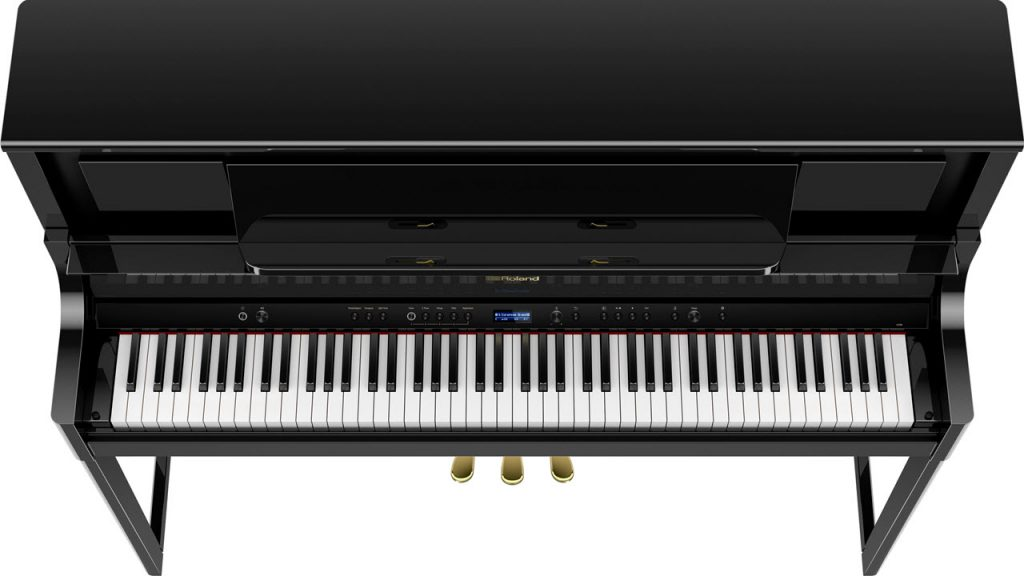 Roland(罗兰)推出 LX700 系列数码钢琴(视频)