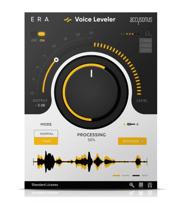 Accusonus 发布 ERA Voice Leveler 人声校准插件(视频)