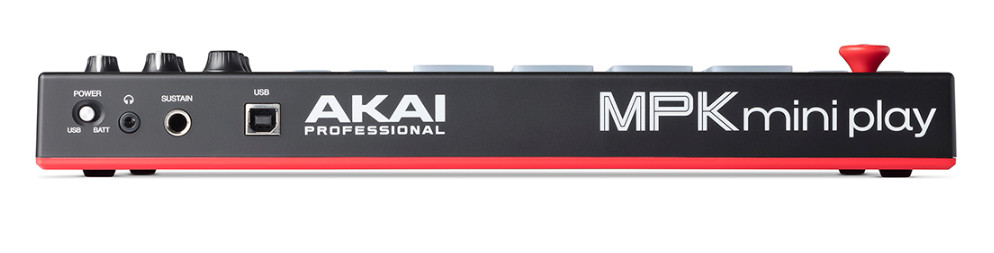 Akai 发布带有内置音色的MIDI键盘控制器 MPK mini play