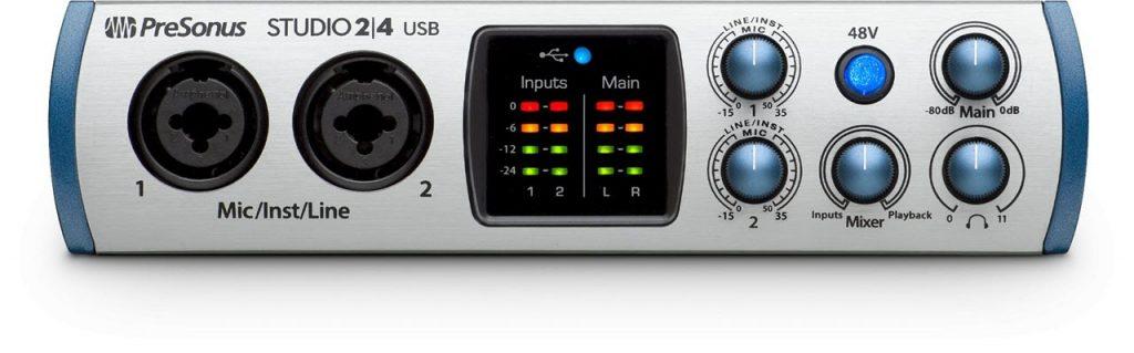 PreSonus发布Studio 2|4 USB便携式音频接口(视频)