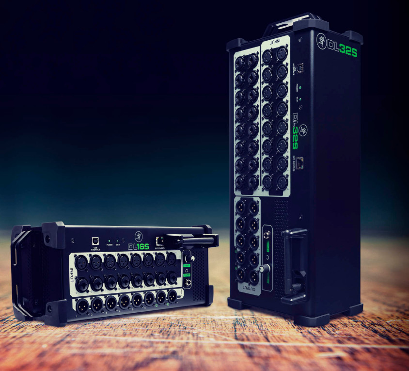 Mackie(美奇)发布 DL16S 和 DL32S 无线数字调音台
