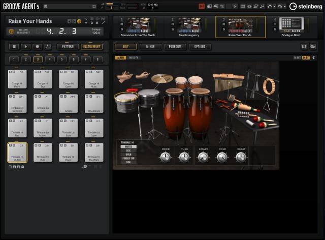 Steinberg(斯坦伯格) 发布 Groove Agent 5 鼓机工作站(视频)