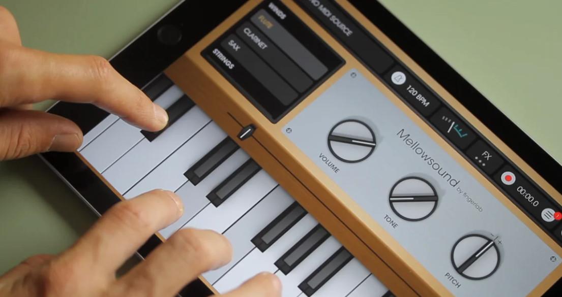 免费!可用于iOS系统的Mellotron采样器(视频)