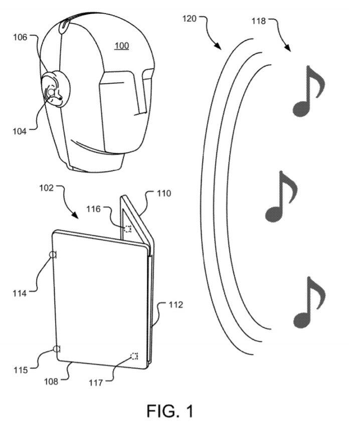 微软获打造配备先进音频系统的双屏幕计算设备专利