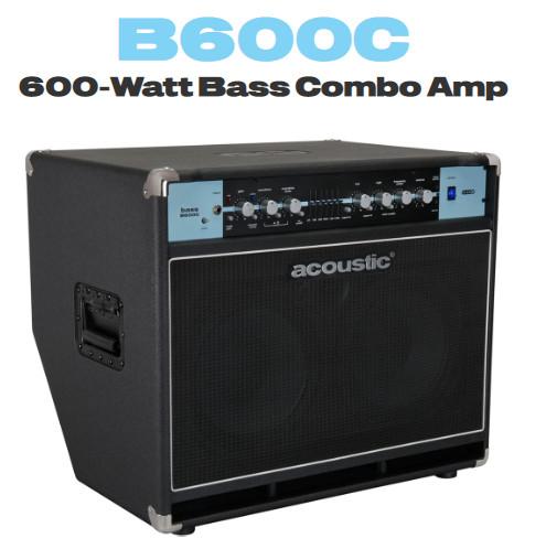 Acoustic Amplifiers宣布推出 B300C 和 B600C 一体化低音放大器音箱