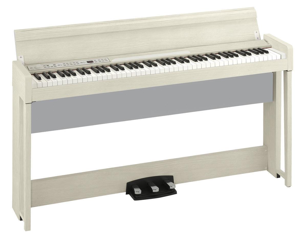 Korg 发布 C1 Air 数码钢琴白灰色版(视频)