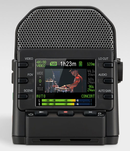 ZOOM 发布音乐家使用的4K超高清相机:Q2n-4K(视频)