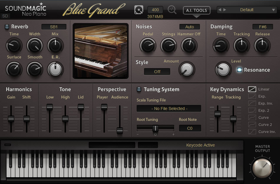 Blue Grand:可弹奏四架施坦威(Steinways)三角钢琴的虚拟钢琴(视频)