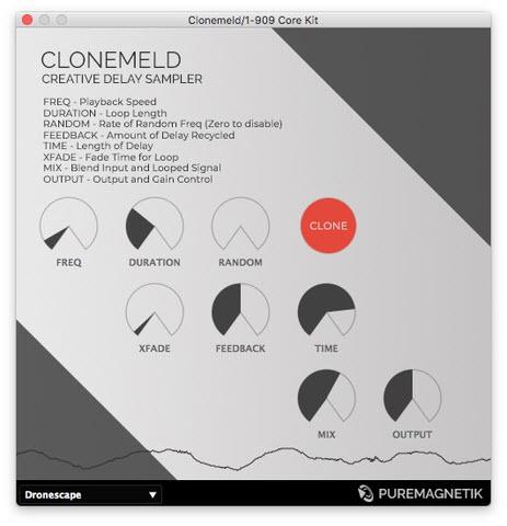 创意延迟采样器插件 — Clonemeld