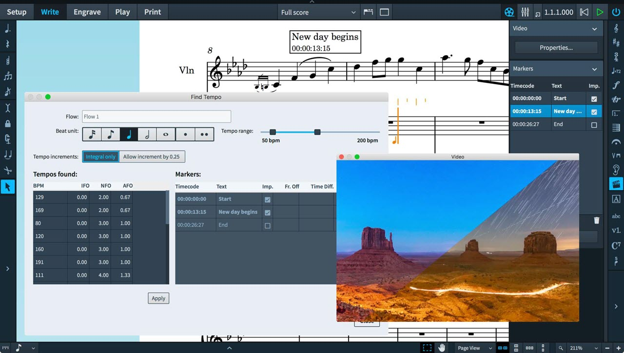 Steinberg 升级音乐打谱软件 Dorico 到2.2版(视频)