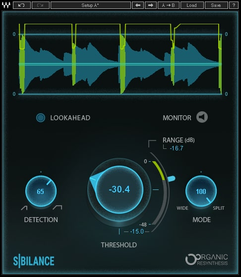Waves 推出 Sibilance(齿音)消音插件(视频)