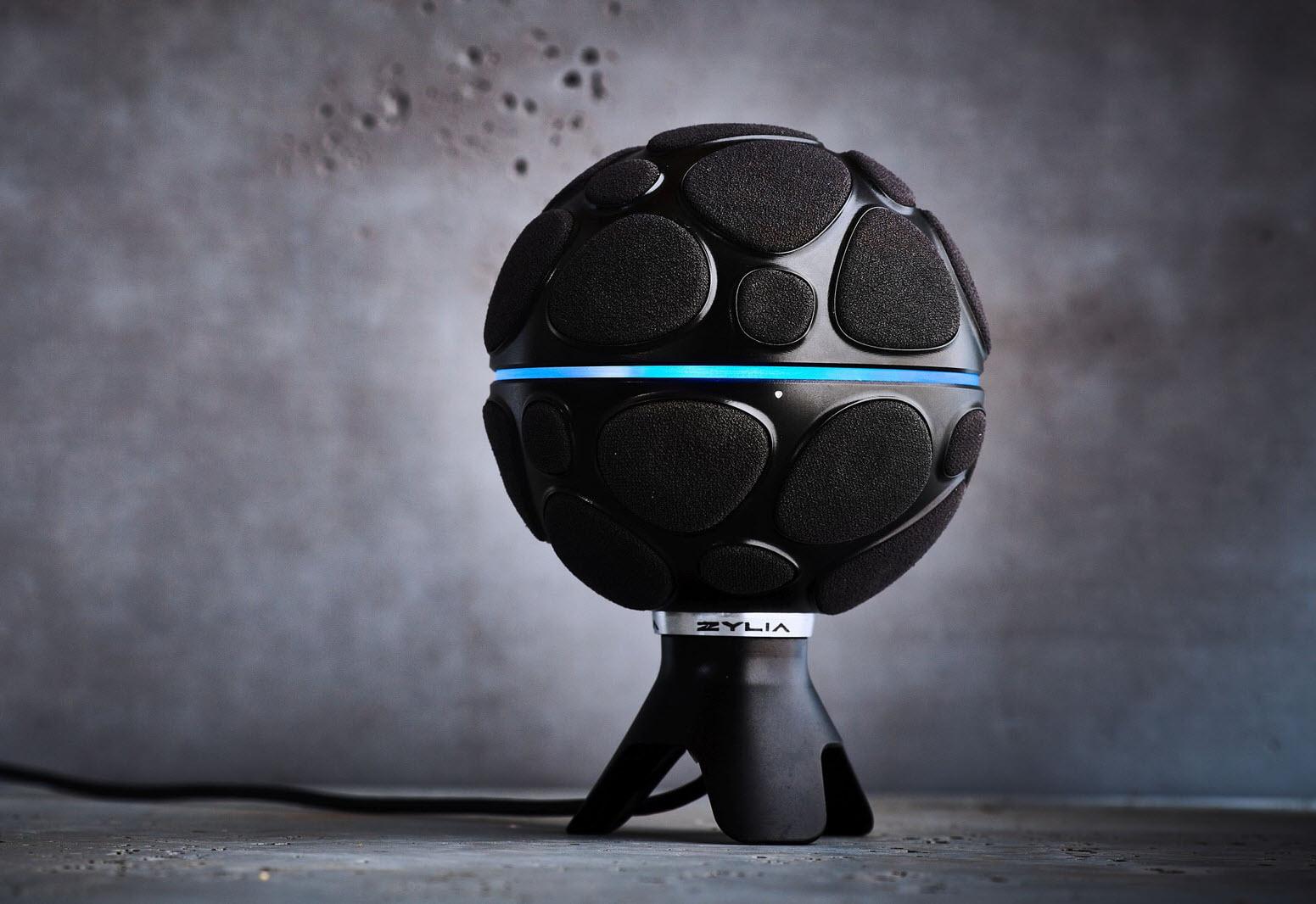 备受好评的ZYLIA ZM-1 360度录音麦克风在美上市(视频)