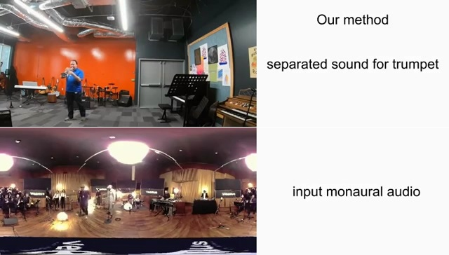 借助机器学习技术研究人员将单声道音频转为2.5D格式