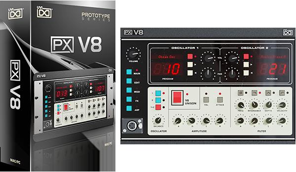 UVI 发布 PX V8 虚拟复音模拟合成器(视频)
