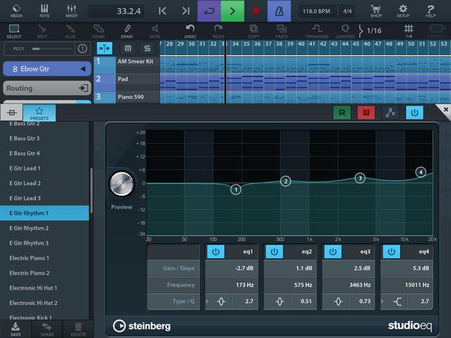 Steinberg 更新 Cubasis 移动音乐制作软件至2.7版(视频)