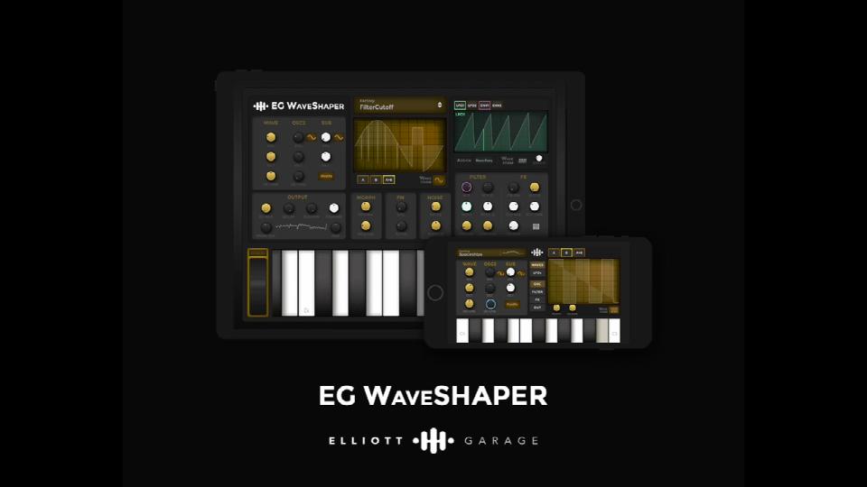EG WaveSHAPER合成器,可用手指画出的合成声音(视频)