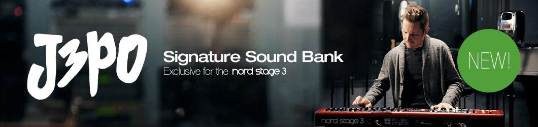 可用于 Nord Stage 3 合成器的全新 J3PO 音色库(视频)