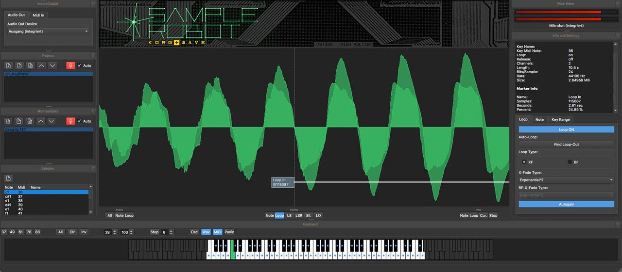 SKYLIFE 发布 SampleRobot 6 Korg+Wave 自动采样器