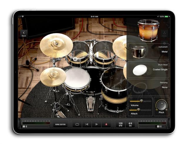 X Drummer:可用在iPad上的免费鼓音轨生成器