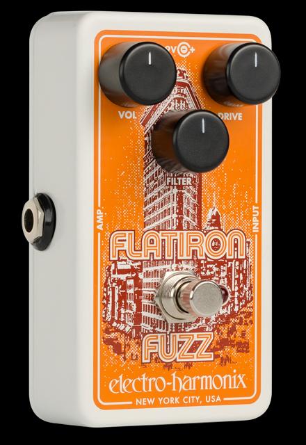 Electro-Harmonix 推出 Flatiron Fuzz 效果器