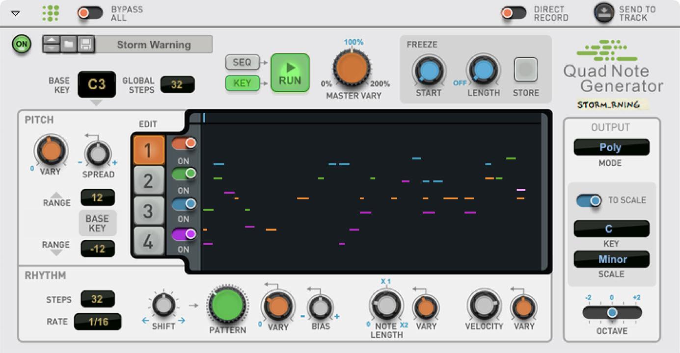 Propellerhead 发布 Quad Note Generator 播放器(视频)