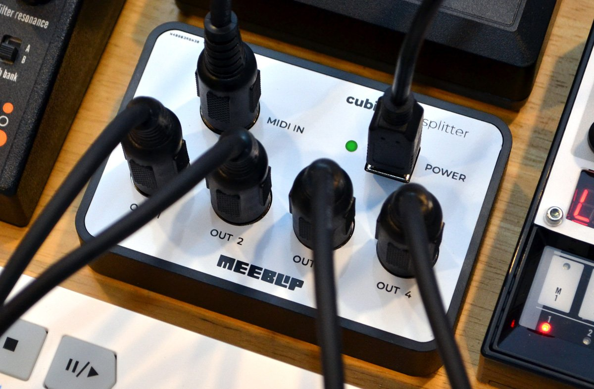 MeeBlip 发布 cubit MIDI Splitter(MIDI分配器)