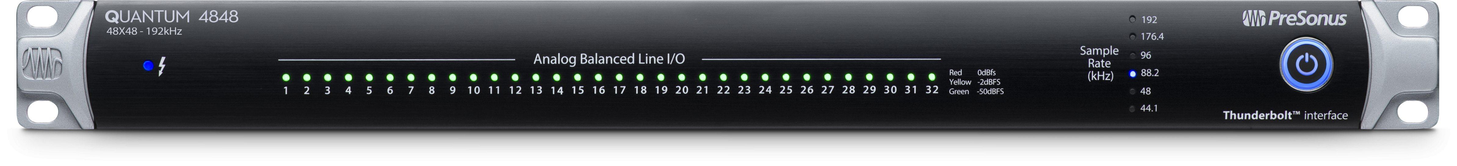 Presonus 发布最新 Quantum 4848 专业音频接口(视频)