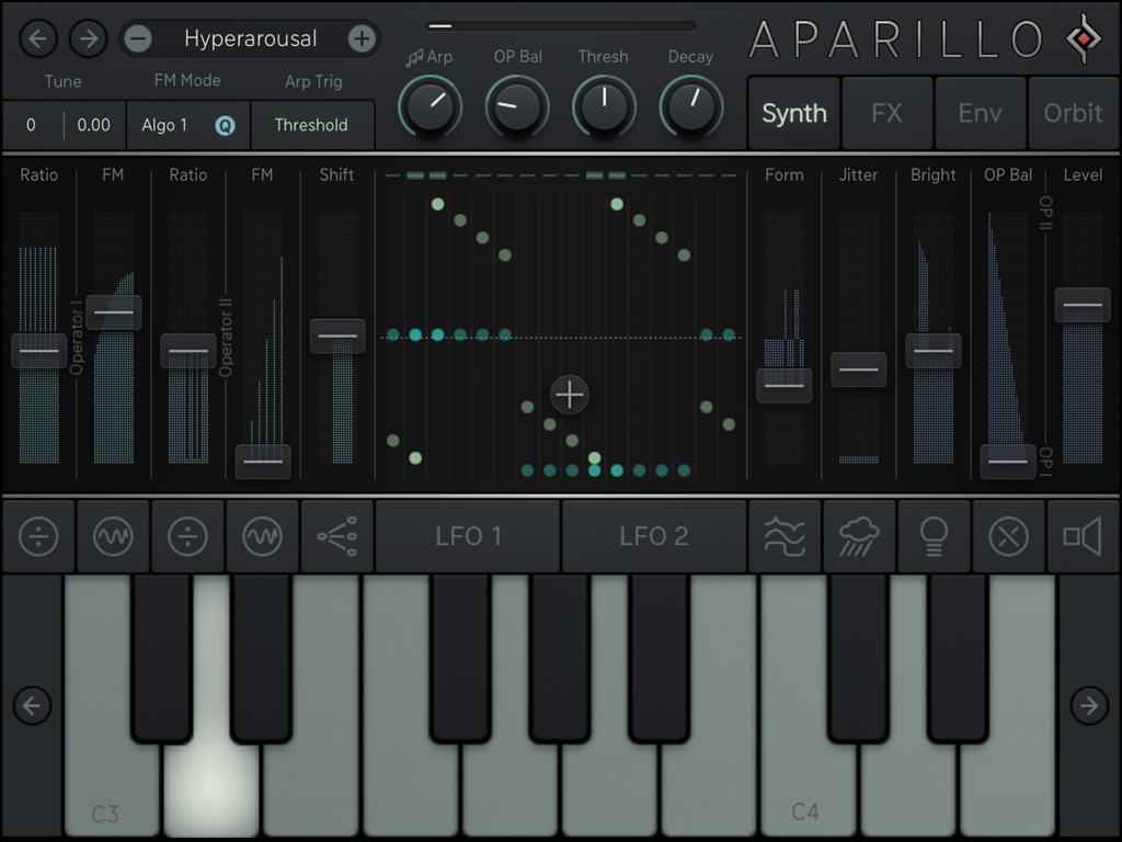 Aparillo,可用在iPad上的电影音效合成器(视频)
